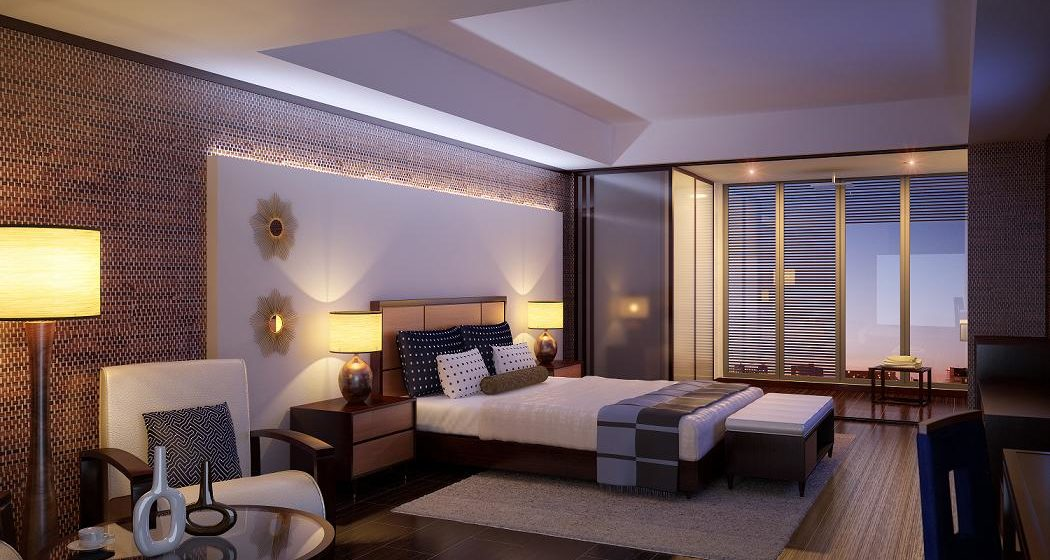 Hotel room. Design a room in the hotel