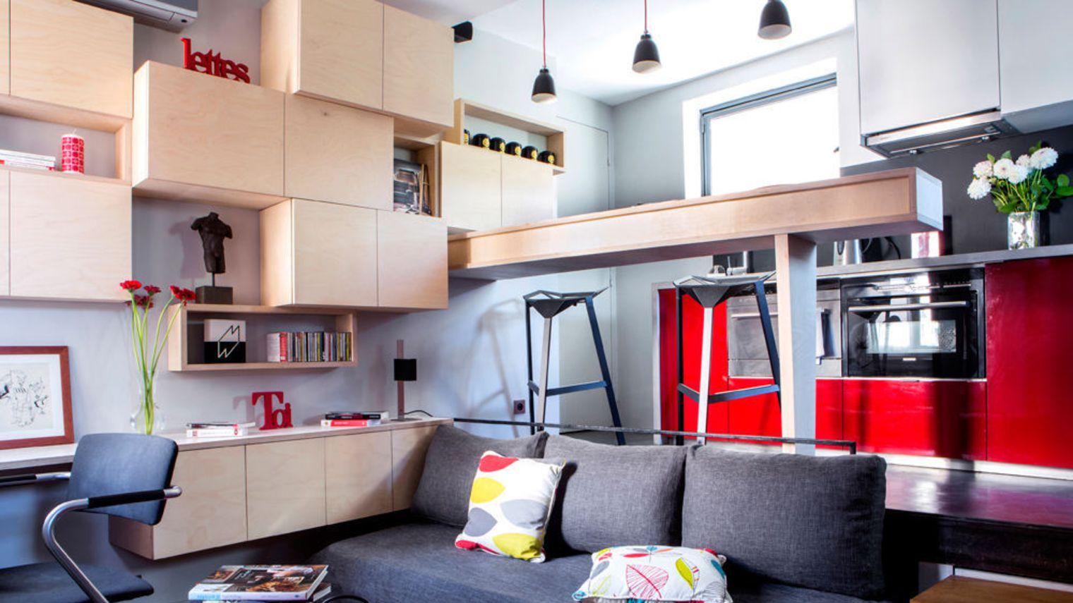 comment bien am nager un petit espace familizine. Black Bedroom Furniture Sets. Home Design Ideas